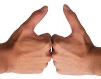 kciuki w górę Zdjęcie Royalty Free