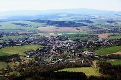 Kdyně (Czech pronunciation: [ˈɡdɪɲɛ]; German: Neu Gedein) is a town in the Plzeň Region of the Czech Republic Stock Image