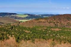 Kdyně (Czech pronunciation: [ˈɡdɪɲɛ]; German: Neu Gedein) is a town in the Plzeň Region of the Czech Republic Stock Photo
