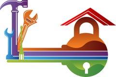 Kędziorka usługowy logo Zdjęcia Stock