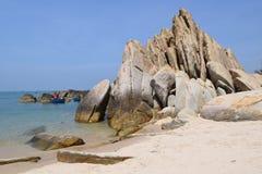Ke Ga海滩在越南 免版税图库摄影