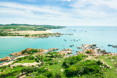 Ke Ga Island in Ham Thuan Nam district, Binh Thuan Stock Photography