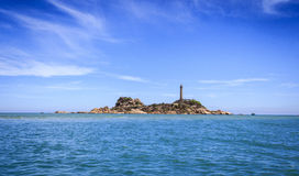 KE GA Lighthouse island Stock Photography