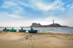 Ke Ga Lighthouse, Phan Thiet, Viet Nam. Ke Ga Lighthouse, Phan Thiet province Royalty Free Stock Images