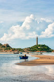 Ke Ga lighthouse, Vietnam Stock Image
