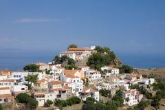 kea för greece ioulisö Royaltyfria Bilder