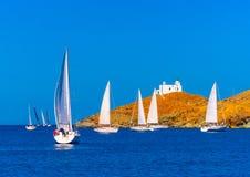 In Kea-Insel in Griechenland lizenzfreie stockbilder