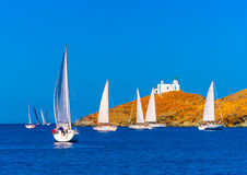 In Kea island in Greece Royalty Free Stock Images