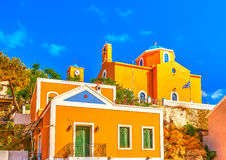 In Kea island in Greece Stock Photography