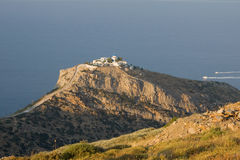 Kea Island Monastery, Greece Royalty Free Stock Photography