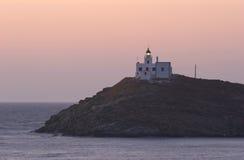 Kea Leuchtturm Stockbild