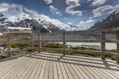 Kea Point, New Zealand Stock Image