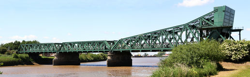 Keadby Bridge Stock Photo
