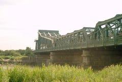 Keadbybrug die de rivier Trent overspannen stock foto's