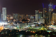 Keala Lumpur downtown Royalty Free Stock Photo