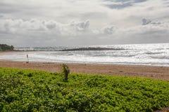 Kealia Beach, kauai Royalty Free Stock Images