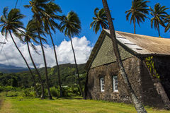 Keanae Congregational Church, Maui, Hawaii Stock Images