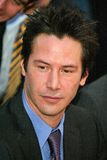 Keanu Reeves. At Reeves induction in the Hollywood Walk of Fame, Hollywood, CA, 01-31-05 royalty free stock images