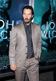Keanu Reeves. At the Los Angeles premiere of John Wick held at the ArcLight Cinemas in Los Angeles on October 22, 2014 in Los Angeles, California stock images