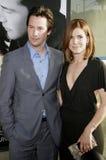 Keanu Reeves und Sandra Bullock stockfotos