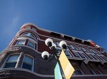 Keating Gebäude Bezirk im Diego-Gaslamp Lizenzfreies Stockfoto