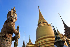 keaw pra świątynia Obraz Royalty Free