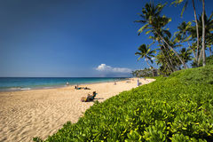 Keawakapu beach, south shore of Maui, Hawaii Stock Photo