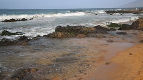 Keawakapu Beach. Wild Keawakapu Beach - Maui, Hawaii stock video