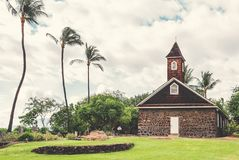 Maui. Keawala`i Congregational Church Near Maluaka Beach On The Island Of Maui Stock Images