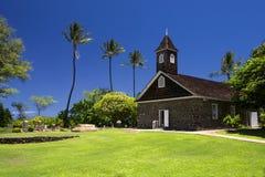 Keawalai kościół, południowy Maui, Hawaje, usa Fotografia Royalty Free