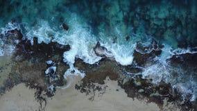 Keawaula na ilha de Oahu no zangão de Havaí filme