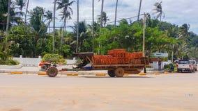Keb-Stadt Kambodscha Stockbilder