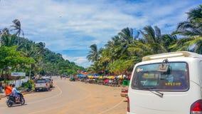 Keb-Stadt Kambodscha Stockfotos