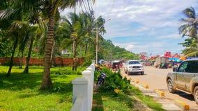 Keb-Stadt Kambodscha Lizenzfreie Stockfotografie