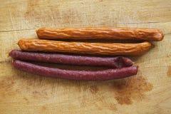 Kebab香肠 免版税库存图片