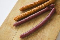 Kebab香肠 免版税图库摄影