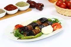 Kebab баклажана стоковое фото rf