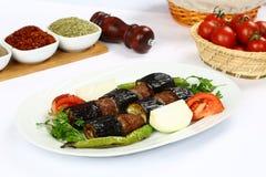 Kebab баклажана стоковое изображение rf