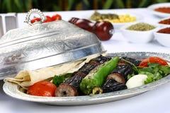 Kebab баклажана стоковое фото