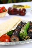 Kebab баклажана стоковые фотографии rf