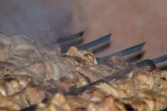 Kebab еды Стоковые Изображения