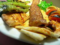 Kebab 04 Royalty-vrije Stock Afbeeldingen