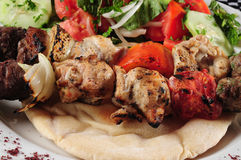 Kebab. Fotografía de archivo libre de regalías