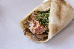 Kebab. Fotografía de archivo