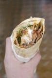 Kebab. Foto de archivo