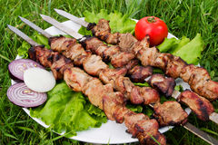 kebab Royaltyfria Foton