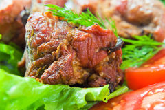 Kebab Fotografia Stock Libera da Diritti