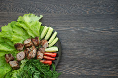 kebab Fotografie Stock Libere da Diritti