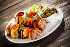 kebab Images libres de droits
