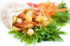 Kebab Arkivfoto